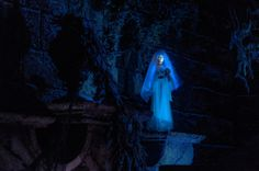 """Lovely Little Leota bids you farewell as you make your exit from the Haunted Mansion, beckoning you to """"Make final arrangements now!"""" and """"Be sure to bring your death certificate"""". As humorous as these."""