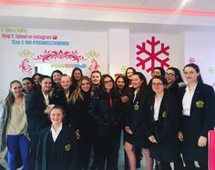It was great to see our second group of school exchange students this year in The Yog Bar today! Today we had Upton Hall School Year 10 Students visit us with their French Exchange partners coming in for an after school Yog! Great choice girls!  #bonjour #yaout #yogurt #froyo #frozenyoghurt #wirral #upton #school #exchange #students #theyogbar #yogbarselfiemirror by theyogbar