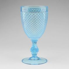 Kirkland glass hobnail goblet....only $5.99!