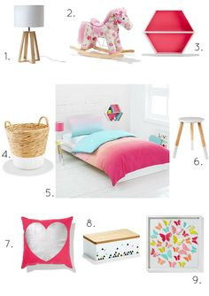Styling Sweet Girls Rooms On A Kmart Budget
