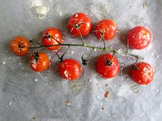 Rostade tomater till charkbrickan