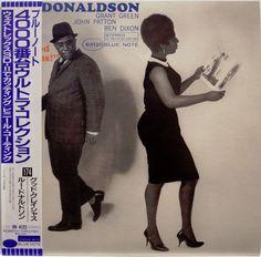 Lou donaldson / grant green / good gracious / blue note / toshiba japan obi