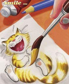 Simpatic@ !!! Menos  juegos  y  ponte  a pintar. .. C