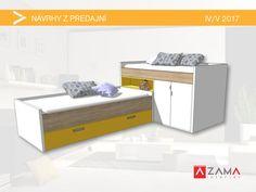 Originálny nápad na detskú poschodovú posteľ s úložným priestorom Custom Furniture, Bench, Storage, Table, Room, Home Decor, Bespoke Furniture, Purse Storage, Bedroom