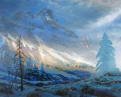 Dale Terbush When Mountain Shadows Fall