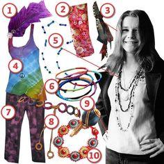 Janis Joplin · DIY The Look · Cut Out + Keep