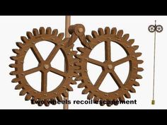 Double Pin Wheel Escapement - James Furgeson (made about 1700) - YouTube