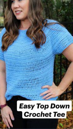 Crochet Hooks, Free Crochet, Knit Crochet, Yarn Projects, Crochet Projects, Crochet Cardigan, Crochet Sweaters, Crochet Summer Tops, Tunisian Crochet