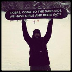 Not even a snowboarder and I find this funny!