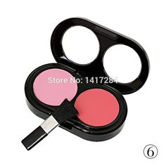 Brand Makeup Blusher Mineralize Blush face double color blushers Palette Cosmetics 3 diff Cheek tint 6 color  bronze for choose alishoppbrasil