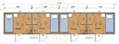 40ft shipping container 4 bedroom