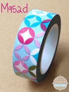 Auto Adhesivo Decorativo Craft Regalo Papel Washi Cinta 15mm X 7m-Plumas