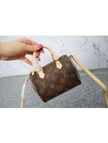 1cb44192fb5 Louis Vuitton Nano Speedy M61252