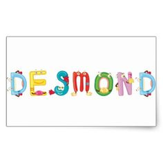 Desmond Sticker - diy cyo customize create your own personalize