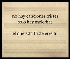 No hay canciones tristes