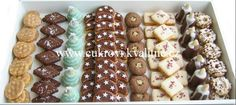 Christmas Cookies, Cereal, Food And Drink, It Cast, Breakfast, Food Ideas, Biscuits, Xmas Cookies, Morning Coffee