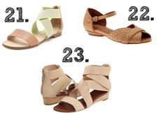 Capital A: Three Things for Spring: Nude Shoes