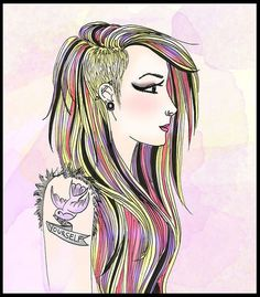 Disney Characters, Fictional Characters, Aurora Sleeping Beauty, Illustration Art, Hair Makeup, Hipster, Female, Disney Princess, Hipsters