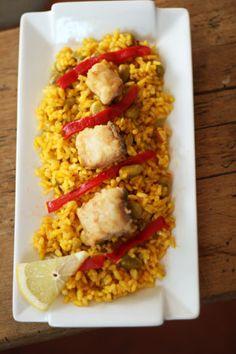 arroz con habas