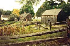 early American farming
