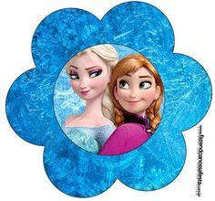 Flor Frozen Disney - Uma Aventura Congelante: from http://www.fazendoanossafesta.com.br/2014/01/frozendisney-umaaventuracongelante.html/frozen-disney-uma-aventura-congelante-59/#main