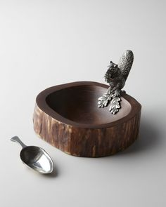 Vagabond House Squirrel Nut Bowl with Scoop - Neiman Marcus