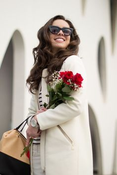 How to style your white coat on your outfit : MartaBarcelonaStyle's Blog