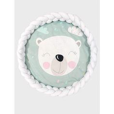 Luxury 2in1 fonott játszószőnyeg - Maci, fehér Knot Pillow, Mac, Room Decor, Pillows, Children, Handmade, Products, Young Children, Boys