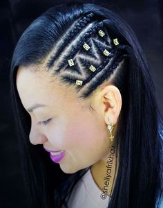 61 Totally Chic And Colorful Box Braids Hairstyles To Wear! Box Braids Hairstyles, Trendy Hairstyles, Girl Hairstyles, Black Hairstyles, Natural Cornrow Hairstyles, Fast Hairstyles, Curly Hair Styles, Natural Hair Styles, Natural Curls