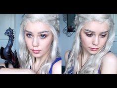 Daenerys Targaryen / Khaleesi / Emilia Clarke - Makeup Tutorial - YouTube