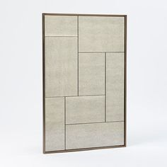 entry mirror Multi-Panel Foxed Mirror | west elm