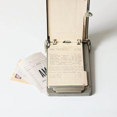 vintage address list finder by AMradio on Etsy, $28.00