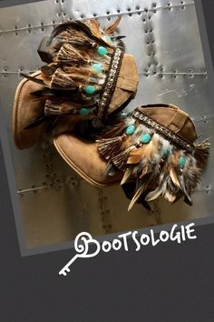 IN STOCK Decorated ankle boot, festival boot, feather boot, bootie. Reworked boot. Leather boot, suede. Size 7.5M Winter Clothes, Winter Outfits, Festival Boots, Decorating Shoes, Western Chic, Soft Suede, Crane, Diy Clothes, Ankle Booties
