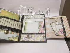 Want to share another mini album I just finished, guess it's true I am OCD.....I started this last Friday and finally finished it today, I h...