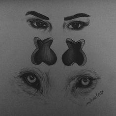 #selenagomez #marsmallow #art #eyes #wolves