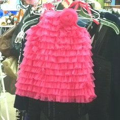 Cute baby girl party dress!
