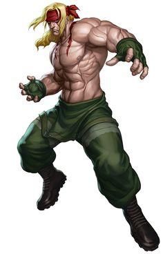 Street Fighter III Alex