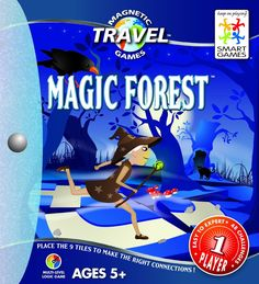 Smart Games Magic Forest Magnetic Travel Puzzle Game: Amazon.co.uk: Toys & Games