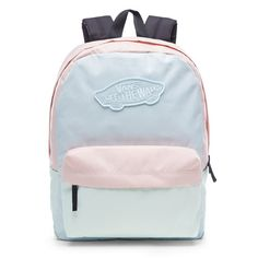 Shop Realm Backpack today at Vans. The official Vans online store. Vans School Bags, Cute School Bags, Vans Bags, Trendy Backpacks, Skate Backpacks, Cute Backpacks For School, Cute Mini Backpacks, Vans Rucksack, Shopping