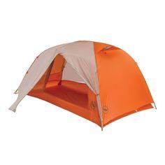 Copper Spur HV UL2 Tent Grey/Orange - Best free standing two door, two vestibule tent we've found.