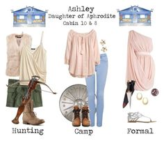 Designer Clothes, Shoes & Bags for Women Aphrodite Cabin, Camp Half Blood Cabins, Percy Jackson Outfits, Fandom Outfits, Allura, Greek Gods, Role Play, Inspired Outfits, Girly Outfits