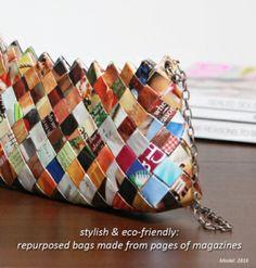 Repurposed bags by blackfrangipani