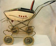 Doll pram, c. Vintage Stroller, Vintage Pram, Vintage Dolls, Pram Stroller, Baby Strollers, Prams And Pushchairs, Dolls Prams, Baby Buggy, Baby Carriage