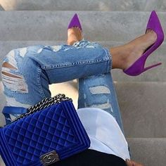 Instagram photo by billionladies - SHOP @love_catwalkconnection for the hottest styles! @love_catwalkconnection  @love_catwalkconnection  @love_catwalkconnection  Get 'CAMERON' Purple Suede Leather Pumps www.catwalkconnection.com  Use Discount Code: LOVECC for 25% OFF Image CREDIT: #petra____xx