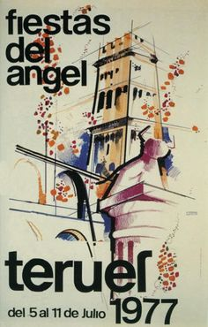 Carteles Fiestas del Ángel Teruel 1977