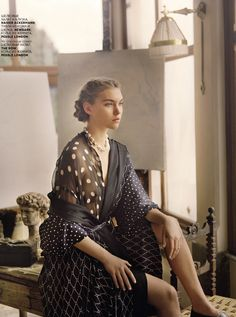Arizona Muse Wears Bohemian Inspired Clothes In 'Lydia' by Tom Craig for Vogue Russia June2013 - 3 Sensual Fashion Editorials | Art Exhibits - Anne of Carversville Women's News
