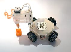 3&Dbot is the world's first autonomous 3D printing robot. #Atmel #3DPrinting #Robotics #Robots #Makers