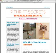 Thrift Diving is a blog to inspire you to decorate, improve, and maintain your home on a DIY budget. Seriously, decorating a home can be expensive, tiring, and a pain. But it can also be rewarding, especially when you can make it look amazing for not a lot of money. Plus, doing some of …