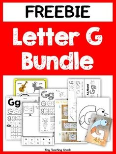 6 different engaging activities for the letter G* poster, letter sort, alphabet… Letter G Activities, Preschool Letters, Preschool Themes, Learning Letters, Letter G Crafts, Alphabet Crafts, Alphabet Book, Alphabet Posters, Kindergarten Activities