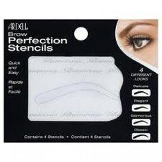 Pochoirs à sourcils Ardell (4 PCS)